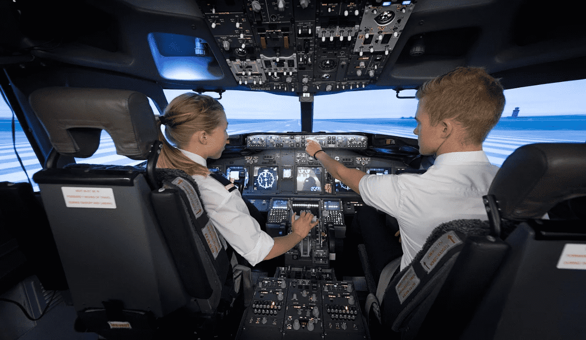 The COMPASS tests are part of the Airbus cadet pilots selection process.